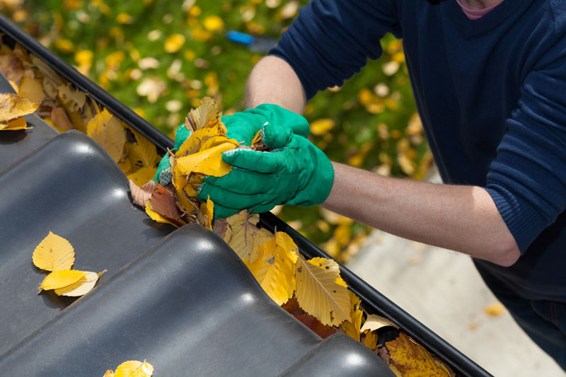 How to (Safely) Clean Your Gutters