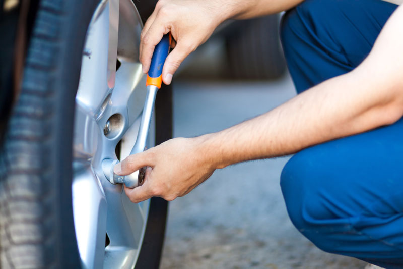 What to Do After a Tire Blowout