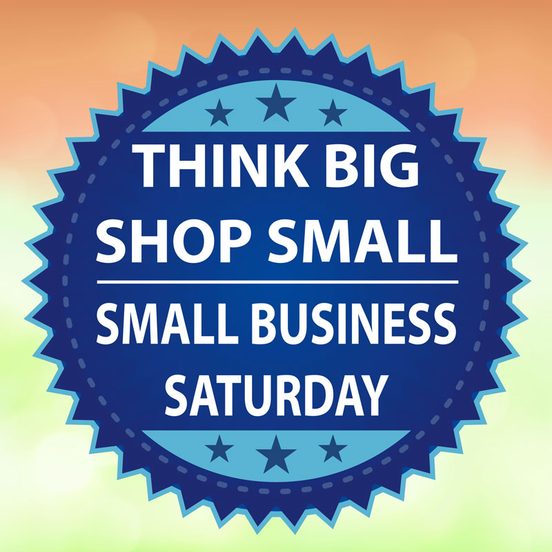 Participate in Small Business Saturday