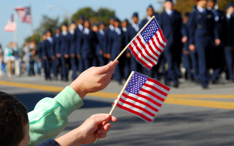 Redlands Veterans Day Parade, Ceremony, and Celebration