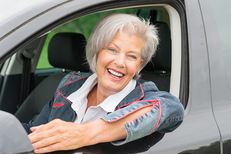 How Important is Driving Experience for Auto Insurance Rates? senior driver in a car