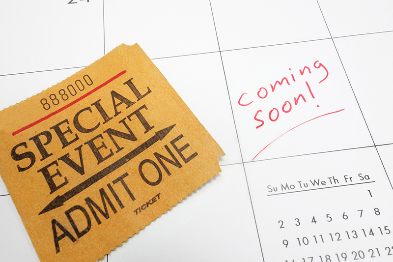 a special event ticket