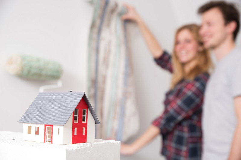 A Young Couple Renovates Their New Home